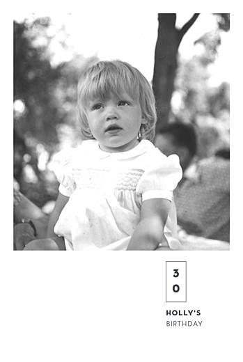 Birthday Invitations Laure de sagazan (foil) white