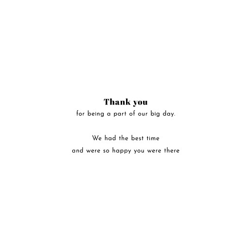 Wedding Thank You Cards Reminisce 4 photos white - Page 3