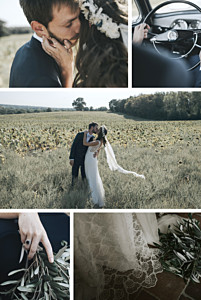 Reminisce 6 photos white wedding thank you cards