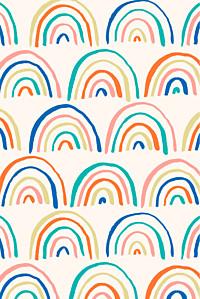 Rainbow (mini) beige bikini sous la pluie  baby thank you cards