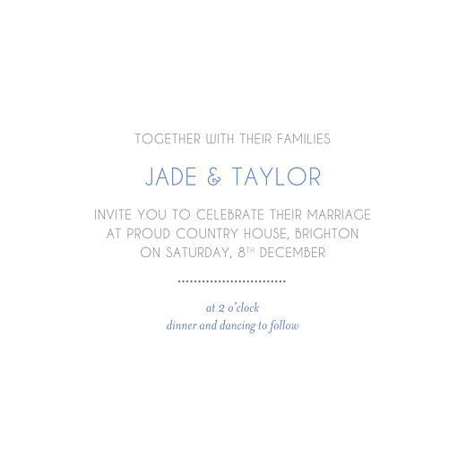 Wedding Invitations Winter promise white - Page 3