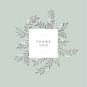Jubilation (4 pages) green green baby thank you cards