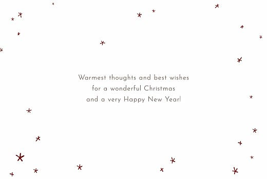 Christmas Cards Lovely stars (4 pages) - Page 3