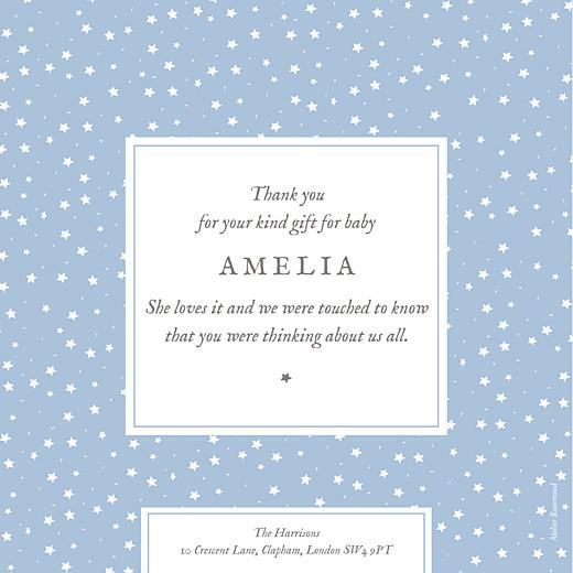 Baby Thank You Cards Souvenir 8 photos blue - Page 2