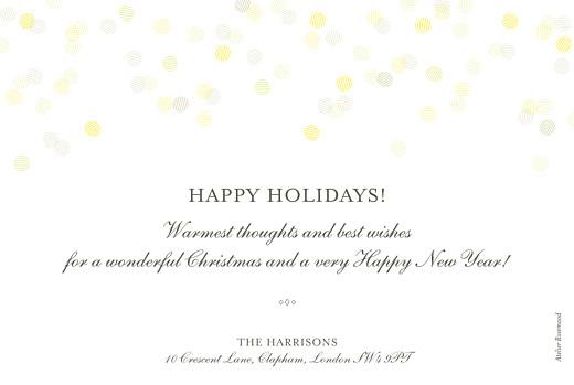 betway必威开户网站圣诞贺卡庆祝风景画(箔纸)白页二