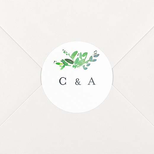 Wedding Stickers Canopy green - View 2