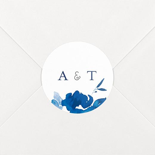 Wedding Stickers English garden blue - View 2