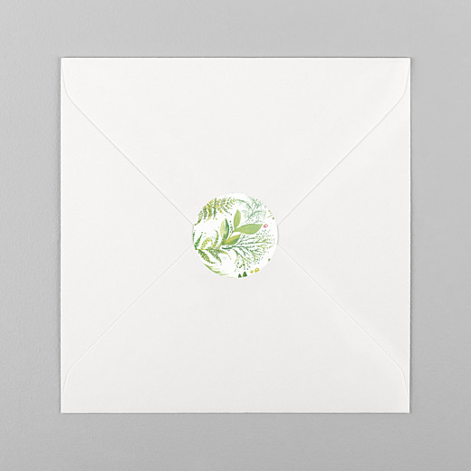 Wedding Stickers Forest whisper green - View 1