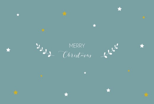 Christmas Cards Star light star bright 4 pages