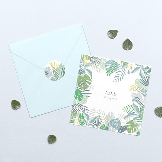 宝宝贴纸热带森林绿色- Gamme