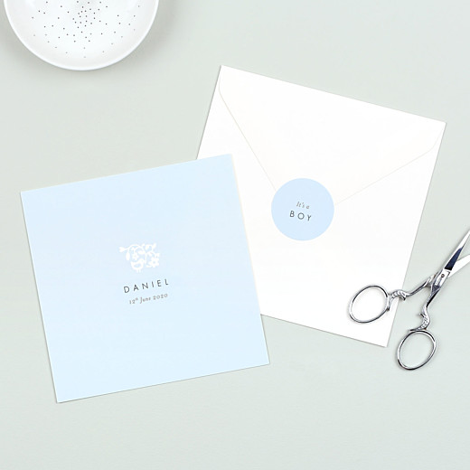 Baby Stickers Pretty pastel blue - Gamme