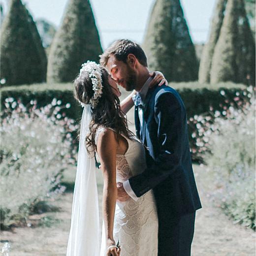 Wedding Thank You Cards Secret garden white