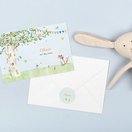 婴儿贴纸林地故事书绿色 - 伽牛