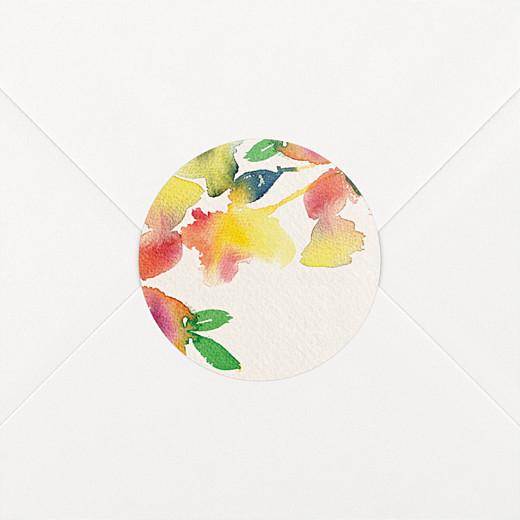 Wedding Envelope Stickers Bloom beige - View 2
