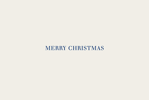 betway必威开户网站圣诞贺卡自然景观别致(箔)蓝色
