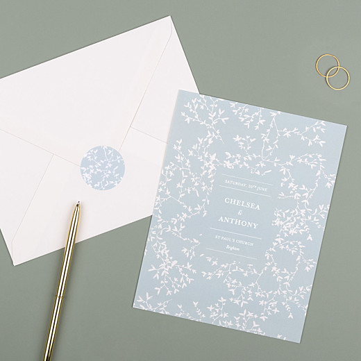 Wedding Stickers Reflections green - Gamme