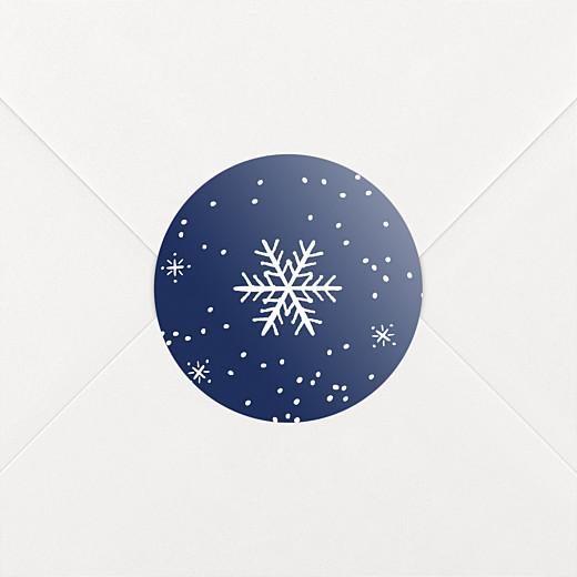 Christmas Stickers Winter wonderland blue - View 2