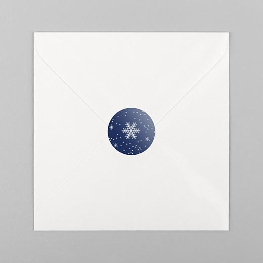 Christmas Stickers Winter wonderland blue - View 1