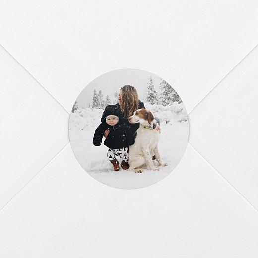 Christmas Stickers Photo white - View 2