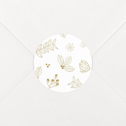 Christmas Stickers My winter garden sand - View 2