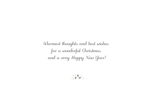 Business Christmas Cards Winter wreath white - Page 3