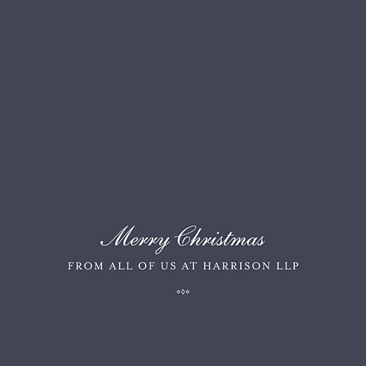 Business Christmas Cards Celebration (foil) ink