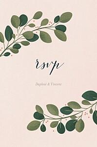 Daphné spring rsvp cards