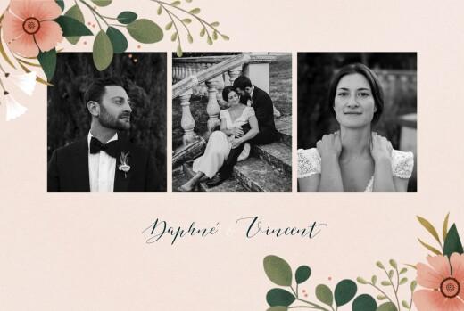 Wedding Thank You Cards Daphné spring