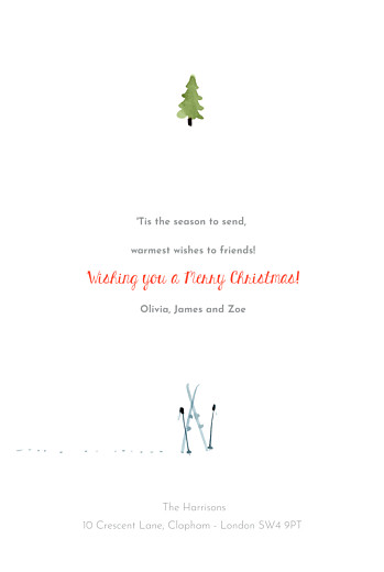 Christmas Cards Alpine white - Page 3