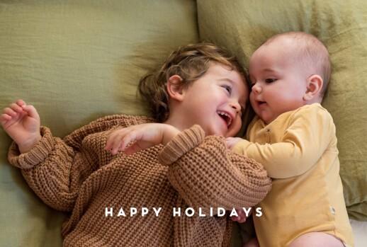 Christmas Cards Treasured (foil) kraft