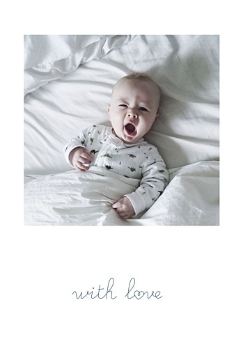 Baby Announcements Darling with love