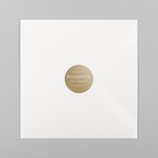Wedding Stickers Kraft essential sand - View 1