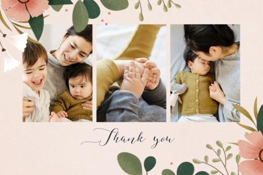 Baby Thank You Cards Daphné spring