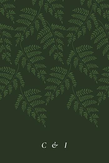 Wedding Invitations Forever ferns green