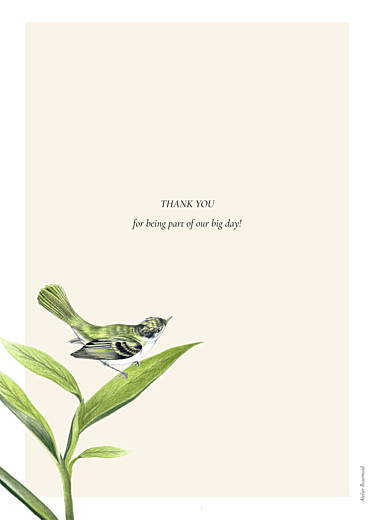 Wedding Order of Service Booklets Flora & fauna white - Page 4