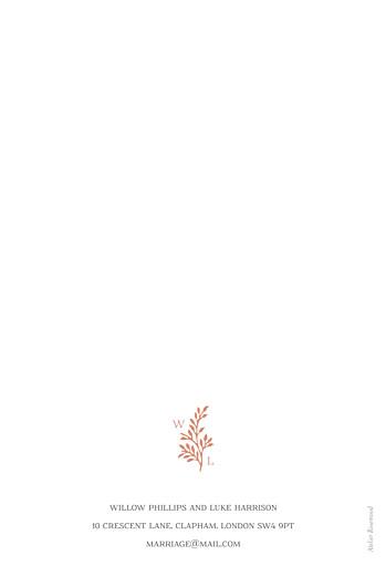 Wedding Invitations Idyllic coral - Page 2