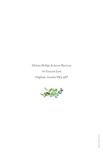 Wedding Invitations Canopy petite green - Page 2