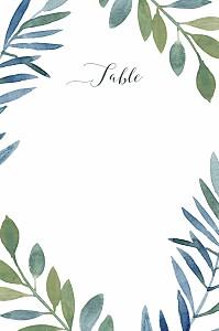 Moonlit meadow blue table numbers