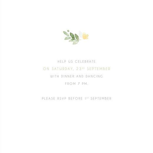 Birthday Invitations English garden green - Page 3