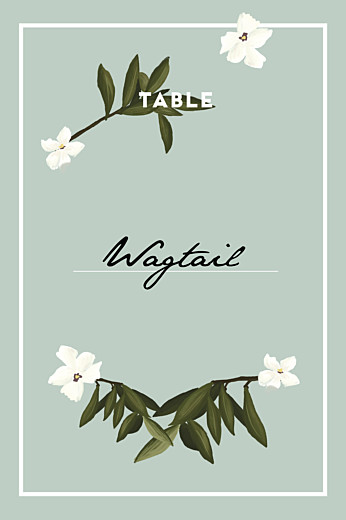 Wedding Table Numbers Bahia blue - Page 1
