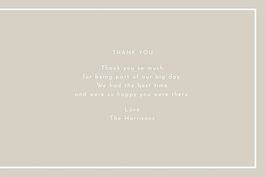 Wedding Thank You Cards The botanist blue - Page 3