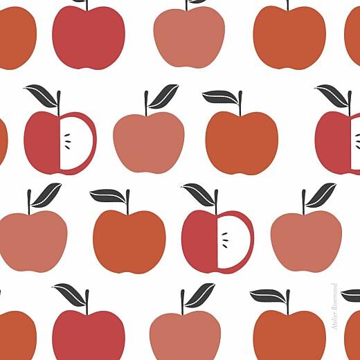 儿童派对邀请水果苹果 - 第4页