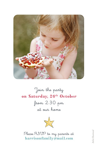儿童派对邀请魔法粉 - 第2页