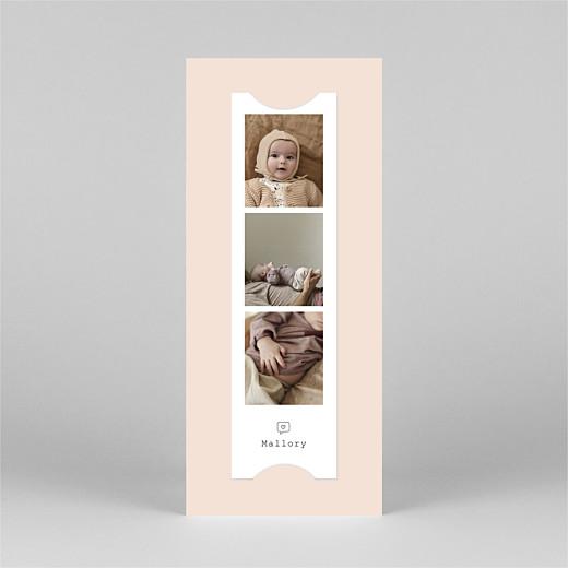 宝贝感谢卡Picto栏(书签)粉色-视图3