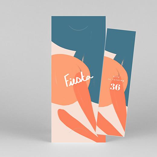 Birthday Invitations Fiesta by mathilde cabanas (bookmark) citrus - View 1