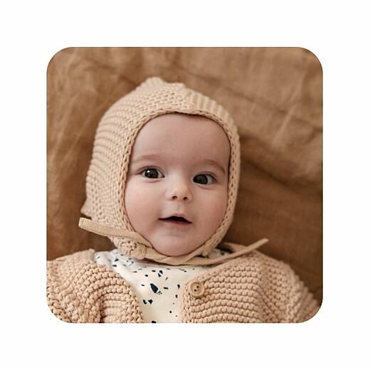 婴儿谢谢卡片招标时刻白色 - 第2页