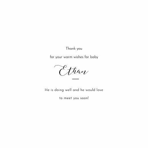 宝贝,谢谢卡片柔软的时刻白色 - 第3页