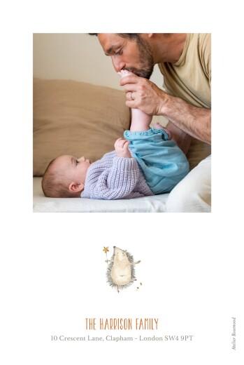婴儿感谢卡森林的朋友白 - 第2页