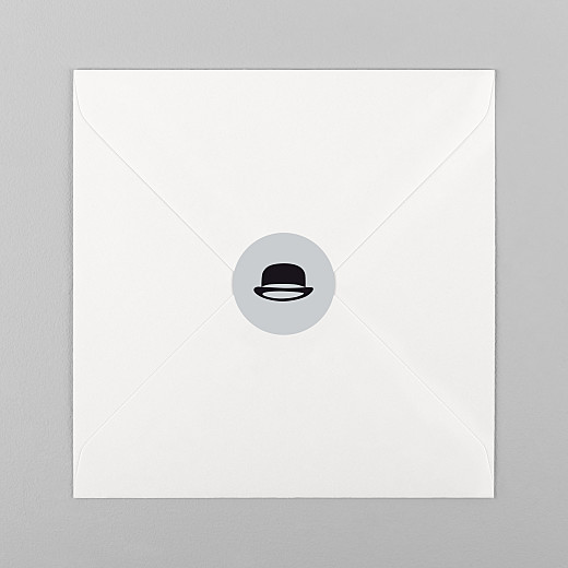 Christening Stickers Dandy grey - View 1
