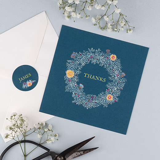 Baby Stickers Baby's breath blue - Gamme